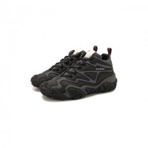 Комбинированные кроссовки Bolster Bensen Acne Studios. Цвет: чёрный