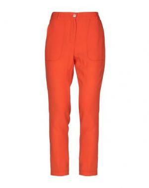 Повседневные брюки I'M ISOLA MARRAS. Цвет: оранжевый
