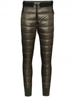 Стеганые спортивные брюки Hybrid Holden. Цвет: зеленый