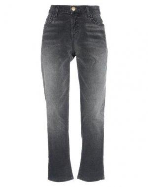 Повседневные брюки CURRENT/ELLIOTT. Цвет: стальной серый