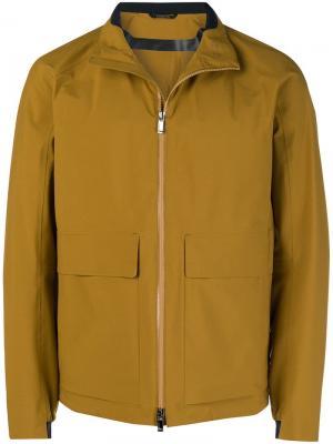 Куртка на молнии с большими карманами Z Zegna