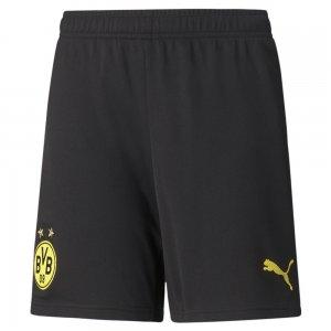 Детские шорты BVB Replica Youth Football Shorts PUMA. Цвет: черный