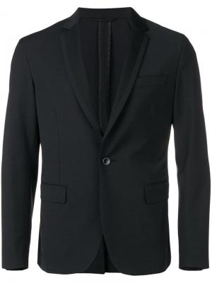 Классический костюмный пиджак Dondup. Цвет: черный