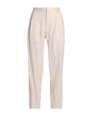Повседневные брюки CHALAYAN. Цвет: светло-розовый
