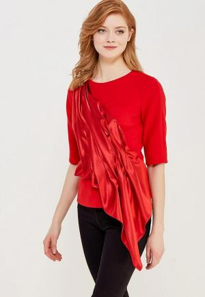 Блуза Katya Erokhina Curtaine. Цвет: красный
