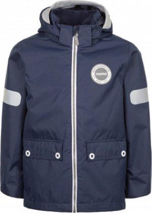 Куртка утепленная для мальчиков Sydvest, размер 122 Reima. Цвет: синий