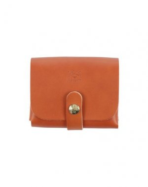 Бумажник IL BISONTE. Цвет: желто-коричневый