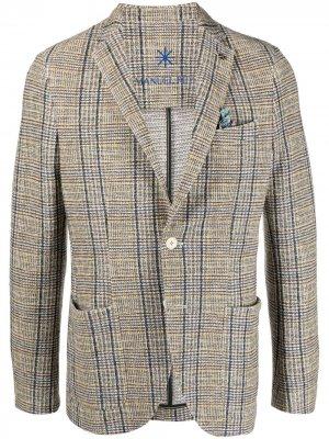Пиджак из джерси Manuel Ritz. Цвет: нейтральные цвета
