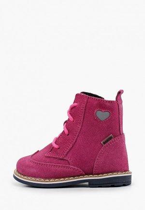 Ботинки Bartek 1087. Цвет: розовый