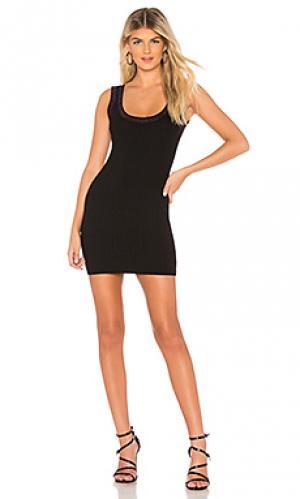 Обтягивающее платье nicky by the way.. Цвет: черный