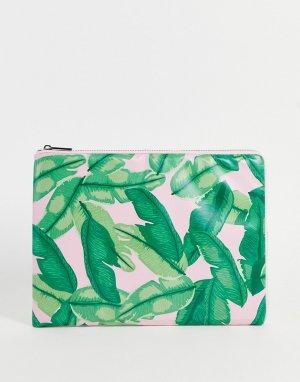 Чехол для ноутбука с банановыми листьями Banana Palm-Разноцветный Skinnydip