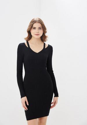 Платье Befree BE031EWADMX7. Цвет: черный
