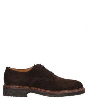 Обувь на шнурках CAMPANILE. Цвет: темно-коричневый