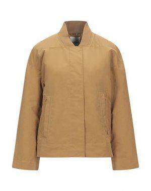 Куртка ELVINE. Цвет: верблюжий