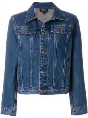 Джинсовая куртка Cherry A.P.C.. Цвет: синий