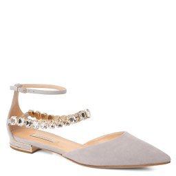 Туфли 1A159N010 светло-серый CASADEI