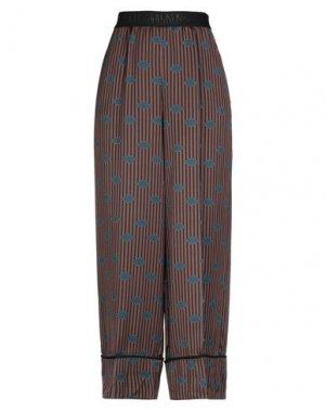 Повседневные брюки BEATRICE. Цвет: цвет морской волны
