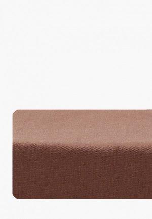 Простыня детская Dream Time 90х200 см. Цвет: коричневый