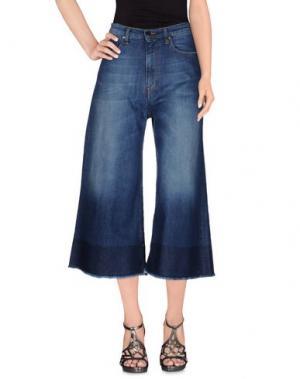 Джинсовые брюки-капри TRUE NYC.. Цвет: синий