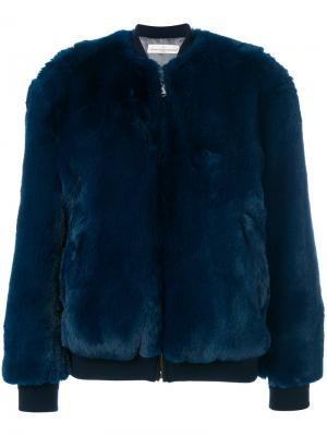 Куртка-бомбер Amanda Golden Goose Deluxe Brand. Цвет: синий