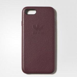 Leather Slim Case iPhone 7 Originals adidas. Цвет: бордовый