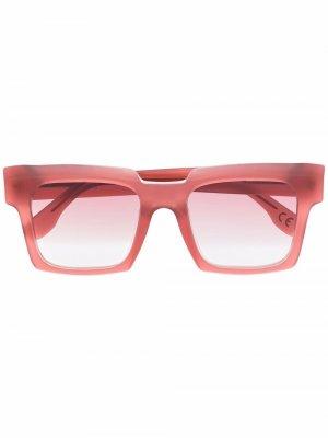 Солнцезащитные очки Palazzo Retrosuperfuture. Цвет: розовый
