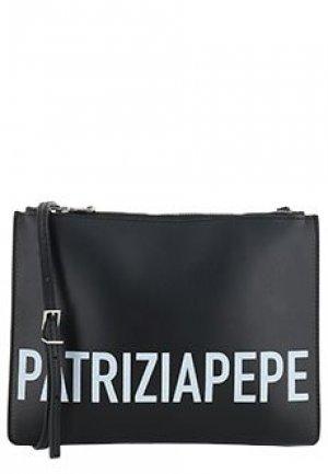 Клатч PATRIZIA PEPE. Цвет: черный