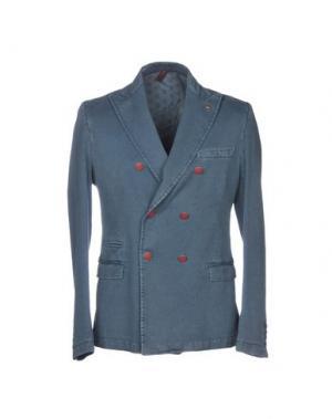 Пиджак ITALIANS GENTLEMEN. Цвет: грифельно-синий