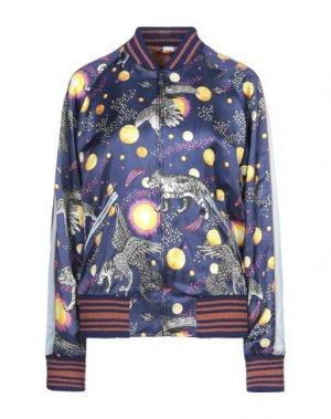 Куртка GUCCI. Цвет: темно-синий