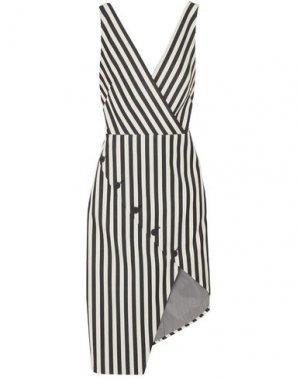 Короткое платье ALTUZARRA. Цвет: черный