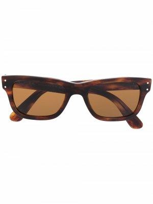 Солнцезащитные очки Mr Burbank Ray-Ban. Цвет: черный