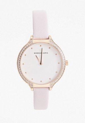 Часы BCBGMaxAzria. Цвет: розовый