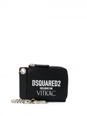Кошелек Exclusive for Vitkac Dsquared2. Цвет: черный