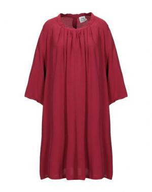 Короткое платье ATTIC AND BARN. Цвет: кирпично-красный