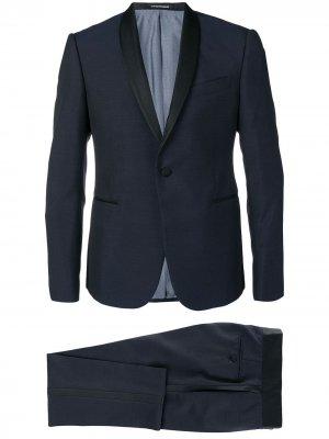 Смокинг с брюками Emporio Armani. Цвет: синий