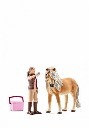 Набор игровой Schleich Конюх и исландский пони. Цвет: разноцветный