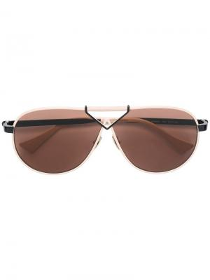 Aviator frame sunglasses Altuzarra. Цвет: нейтральные цвета
