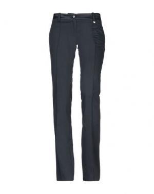 Повседневные брюки CELYN B.. Цвет: темно-синий