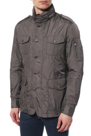 Куртка Cerruti. Цвет: серый