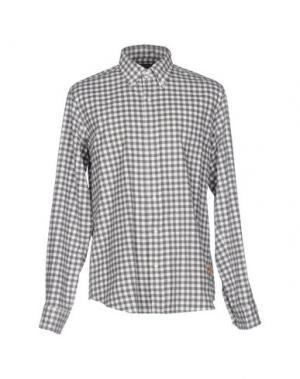 Pубашка BALDESSARINI. Цвет: серый