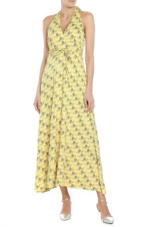 Платье Glamour Armour. Цвет: желтый