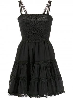 Платье Stelle Charo Ruiz Ibiza. Цвет: черный