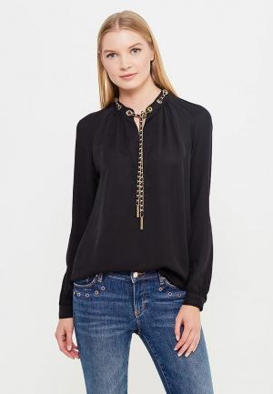 Блуза Michael Kors MI048EWUGZ55. Цвет: черный
