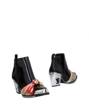 Полусапоги и высокие ботинки JEFFREY CAMPBELL. Цвет: черный