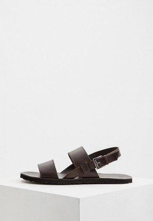 Сандалии Trussardi Jeans. Цвет: коричневый