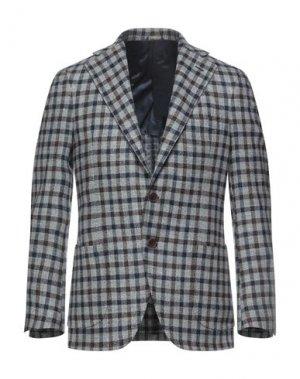 Пиджак GABO Napoli. Цвет: серый