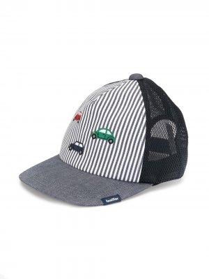 Бейсбольная кепка с вышивкой Familiar. Цвет: синий