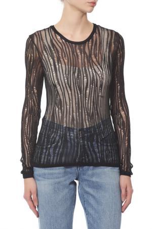 Пуловер Saint Laurent Paris. Цвет: черный