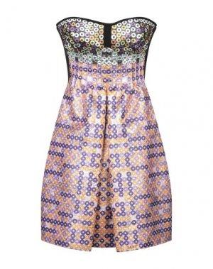 Короткое платье ALTUZARRA. Цвет: розовый