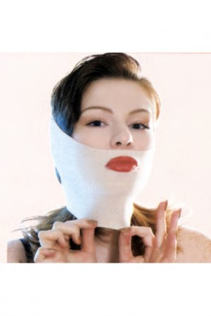 Комплект тканевых масок Gezatone. Цвет: бежевый